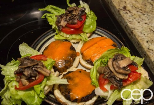 #DIYSandwich — Quick and Easy Summer Burger — Open-Faced Burgers