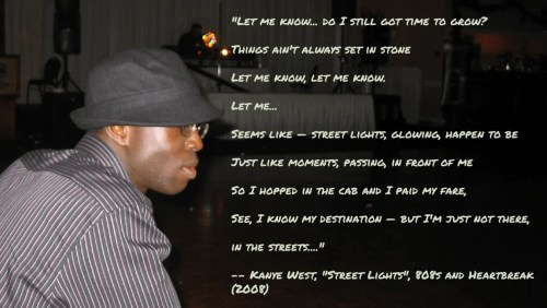 THE MONTHS OF 'BER — On Leave — Casey Palmer x Kanye West Streetlights