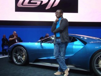 Canadian International Auto Show (CIAS) 2015 — Friday, February 13, 2015 — A Morning With Ford Canada — Casey Palmer and the 2016 Ford GT Carbon Fiber (web)