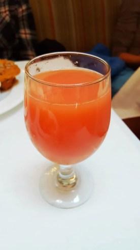 Casey Palmer x Swiffer Present — 36 Hours in NYC — Sarabeth's — Grapefruit Juice