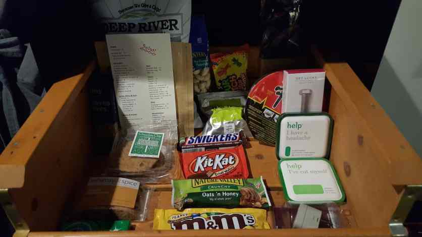 Casey Palmer x Swiffer Present — 36 Hours in NYC — The Ace Hotel — In-Room Snack Bar