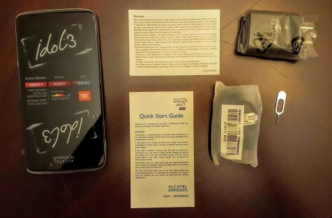 A Case Cringle Christmas, Day 1 — Keep Your Phone Game on Fleek with the Alcatel onetouch Idol 3 — Inside the Alcatel onetouch Idol 3 Box
