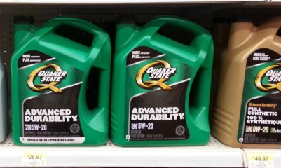 Quaker State's Quest to Build a Better Grown-Up! — Quaker State 5W-20 Motor Oil 4.73L