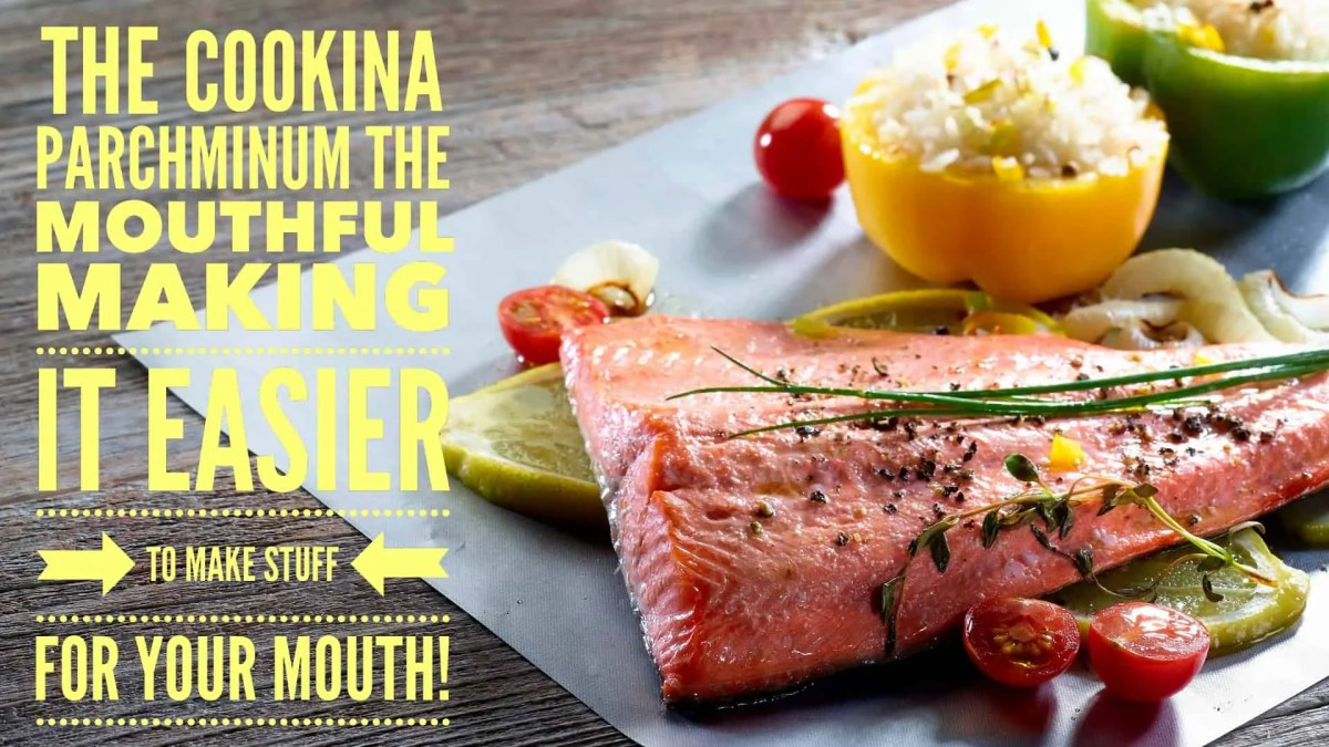 The Cookina Parchminum — The Mouthful Making it Easier to Make Stuff for Your Mouth! (Featured Image)