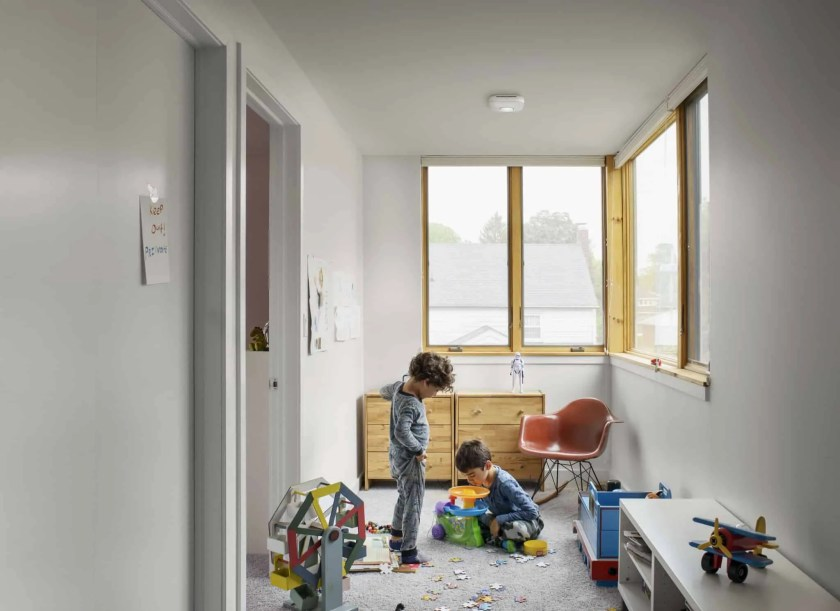 Building a Smarter Home with TELUS, Part One — The Things You Detect with a Nest Protect — Nest Protect Lifestyle Shot Kids at Play