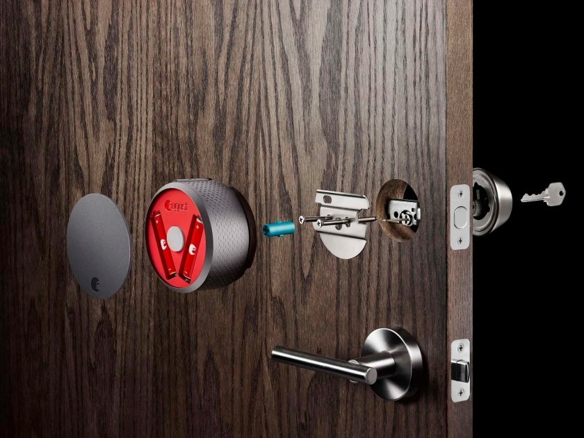 Building a Smarter Home with TELUS, Part Two — Letting the Right Ones in With the August Smart Home Access System! — August Smart Lock Cross-Section