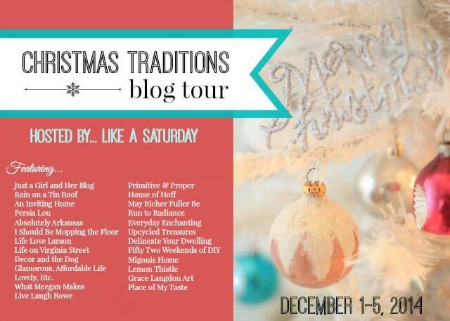 Christmas Traditions Blog Tour 1