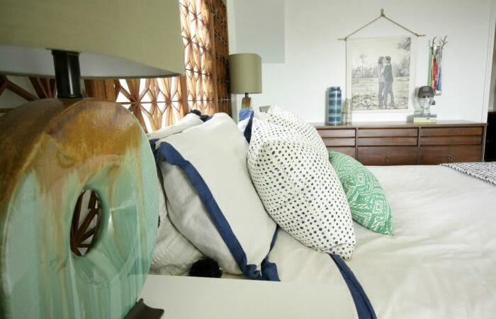 Master Bedroom Makeover with white walls