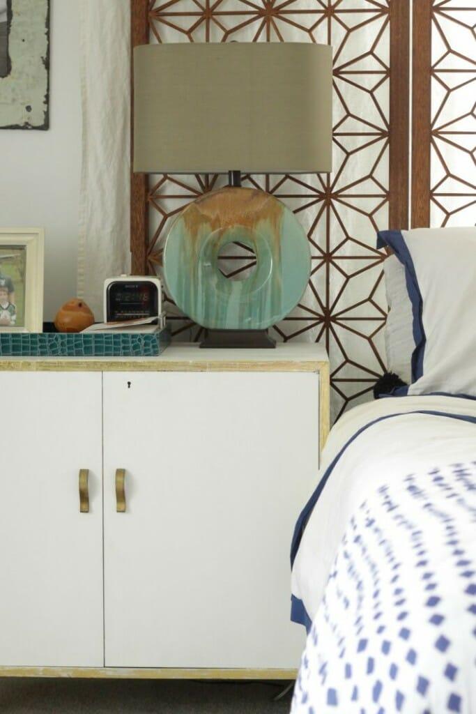 Modern Bohemian Bright White bedroom