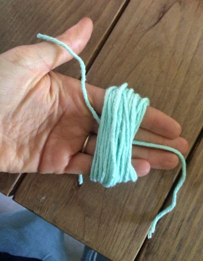 pouch making tassel