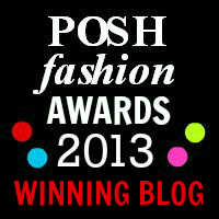 posh fashion awards 2013