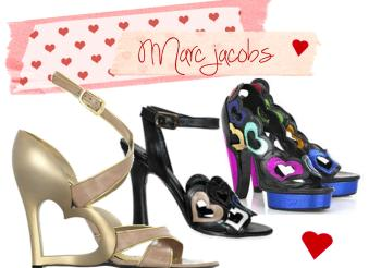 marc jacobs heart shoes valentines day tuesday shoesday 2013