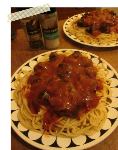 pieday friday recipe for spaghetti bolognese and meatballs cooking pasta main meal