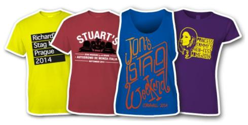 quality stag and hen t shirt printing from stagandhentshirtscom