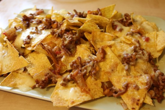 chilli beef nachos recipe
