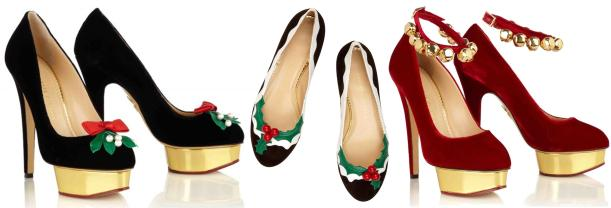 charlotte olympia christmas shoes