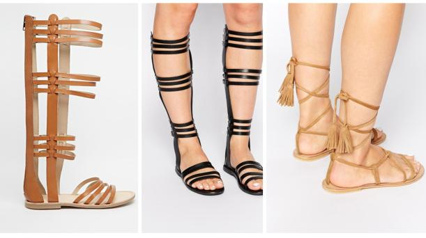 asos strappy sandals for summer 2015