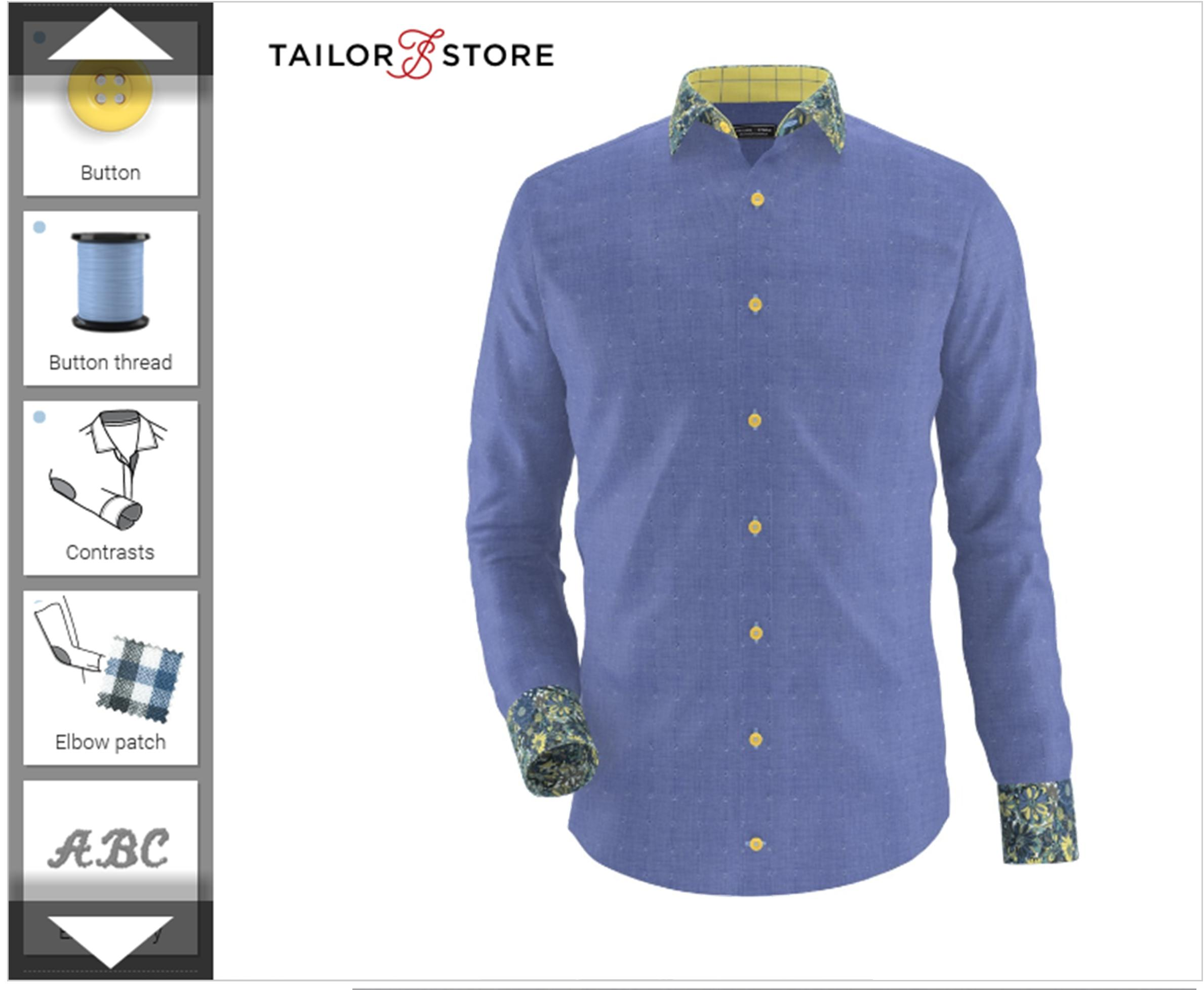 Fathers day gift inspiration cassiefairy my thrifty life for Tailor made shirts online