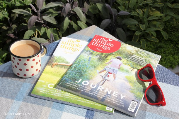 lifestyle inspiration - share serenity reading magazines tea-2