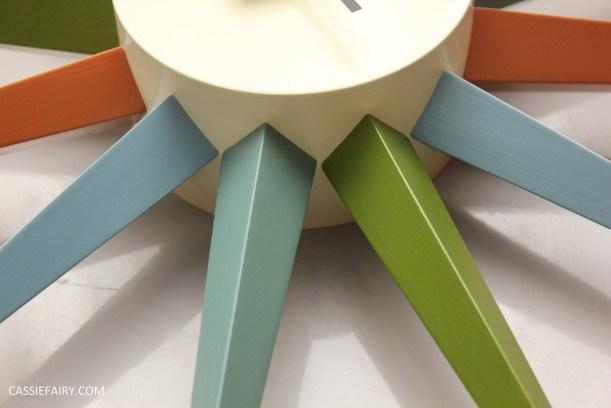mid century modern interior design starburst clock-3
