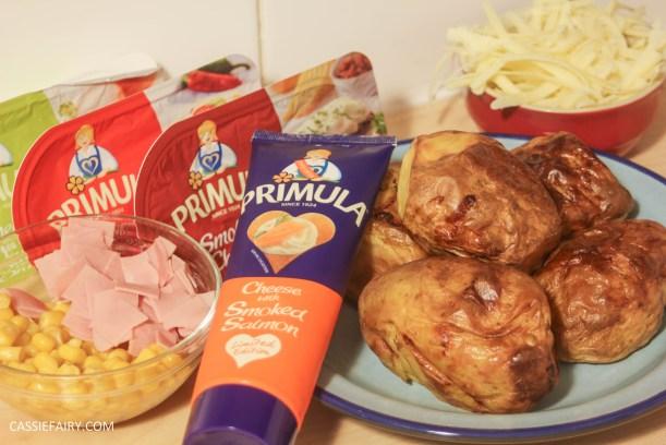 primula evening snack recipe loaded ham and cheese potato skins-2