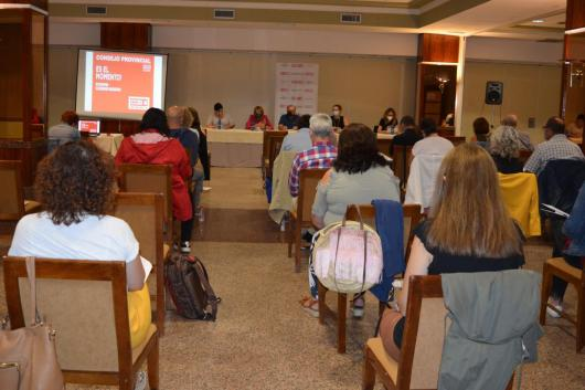 Consejo provincial de CCOO Albacete