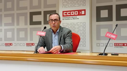 Paco de la Rosa, secretario general de CCOO CLM