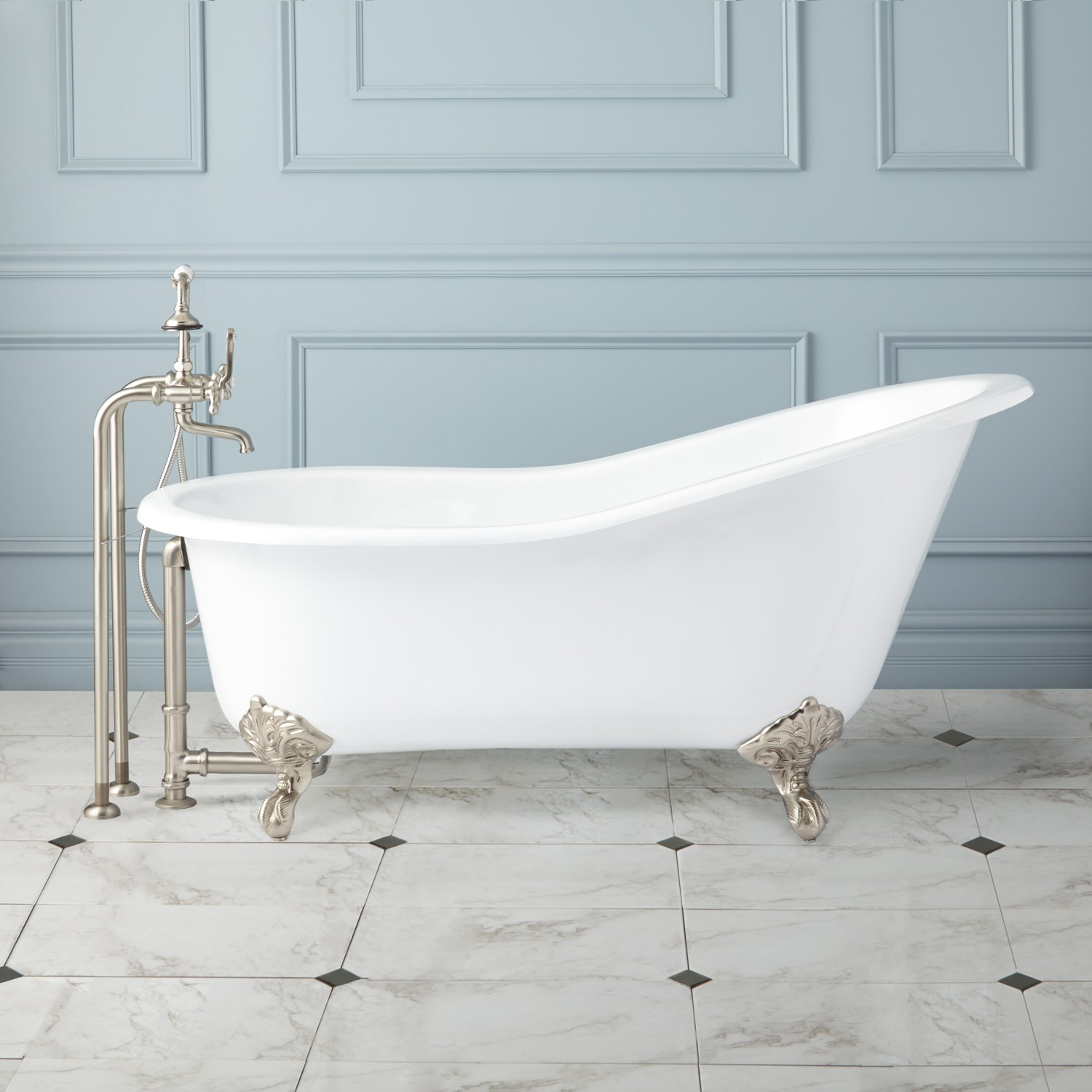 Enchanting How A Cast Iron Tub Can Improve Your Appearance Cast Iron Tub Paint Cast Iron Tub Value houzz-02 Cast Iron Tub