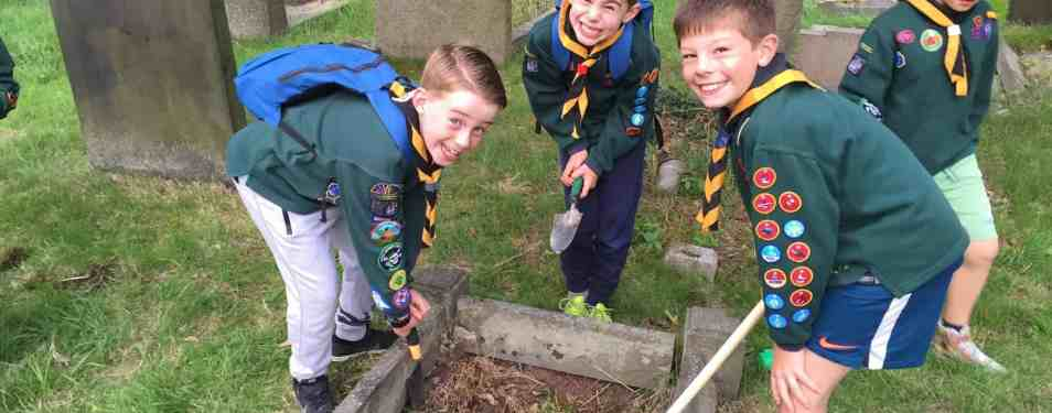 Kind Hearted Cubs Volunteer in Grav...