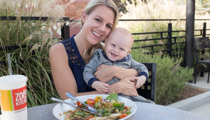Tips for Eating Out with Toddlers and Babies (+Zoë's Kitchen Giveaway)
