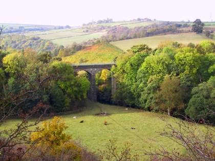 Rompticle Viaduct, part of the Thurgoland Heritage Walk