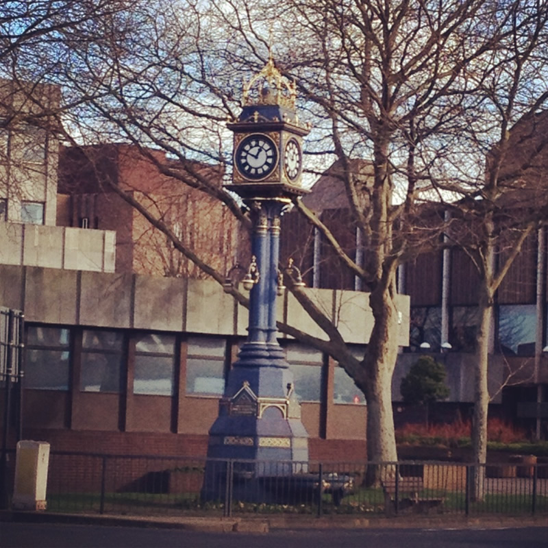 The Hastings Clock - given to the town in 1912 by James Hastings.