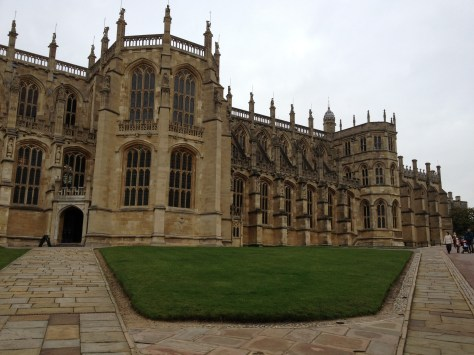 St. George's Chapel at the Windsor Castle