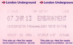 adult fare ticket to Windsor and Eton Riverside station