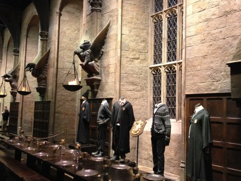 The Great Hall at the Harry Potter Studios (Warner Bros. Studios)
