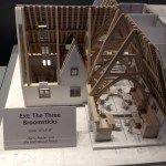 model of The Three Broomsticks
