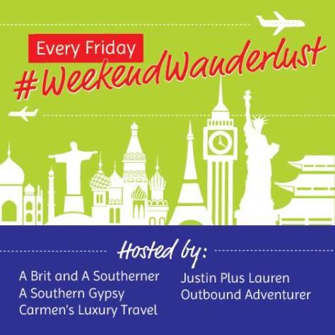 #WeekendWanderlust logo
