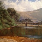 title unknown (subject: View of The Ellis River, Jackson, New Hampshire), artists name unknown, date unknown