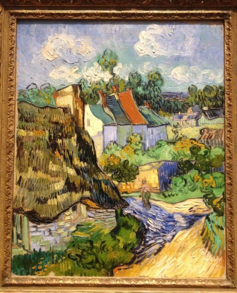 """Houses at Auvers,"" by Vincent van Gogh, 1890"