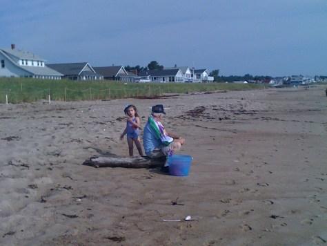 Beach in Saco, Maine