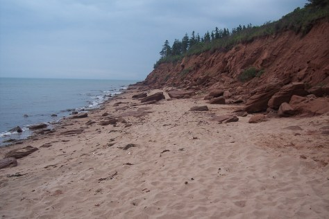 southernmost tip of Panmure Island Provincial Park beach, Prince Edward Island, Canada