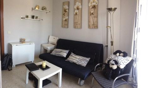 The living room at Apartamentos Mérida