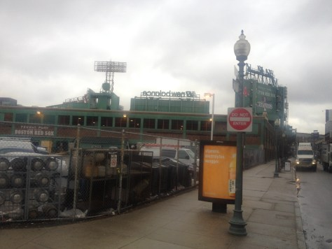 Fenway Park, the Big Green Monster, home of the Boston Red Sox