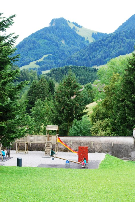 playground in Switzerland, courtesy of the Selim Family Raasta