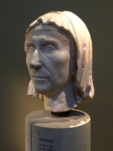 Roman Matron in the Roman Portraits and Statues section