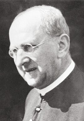 Priest Bernhard Lichtenberg; photo downloaded from the German Resistance Memorial Center website