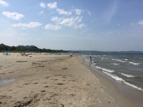 Plaża Jelitkowo (Jelitkowo Beach), Gdańsk, Poland