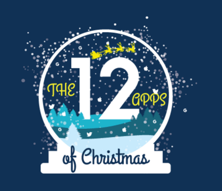 12 Apps of Christmas 2016 logo
