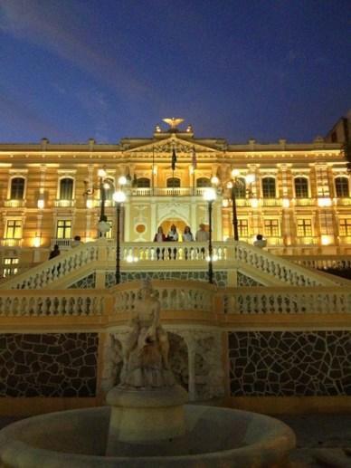 Palacio Anchieta Centro histórico de Vitória em um dia
