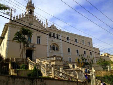 Convento do Carmo Centro histórico de Vitória em um dia